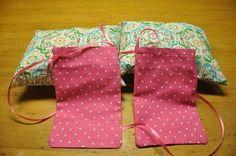 Mastectomy pillows and drain bags