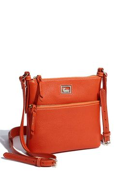 Dooney was my first purse love, and I still have a soft spot for them. Like an old comfortable pair of jeans. Wouldn't this look great for spring? I think so.