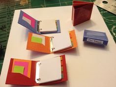 Miniature binder Tutorial @ elaineminis.com