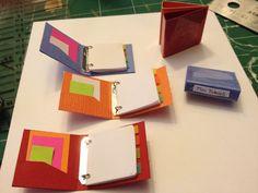 Miniature binder Tutorial @ elaineminis.com