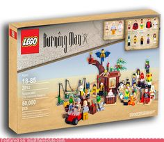 Cheezburger.com - Crafted from the finest Internets. #Lego #BurningMan