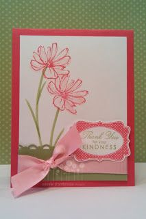 paper owl {cassie d'ambrosio}: Stampin' Up! - Four Frames Card