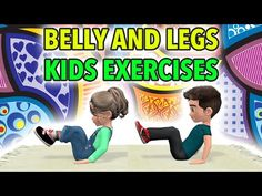Kids Workout At Home: Belly and Legs Exercises Physical Activities For Kids, Physical Education Lessons, Gross Motor Activities, Physical Development, Gross Motor Skills, Dementia Activities, Elderly Activities, Movement Activities, Character Education