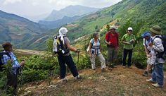 travel in Viet Nam- Sapa trekking