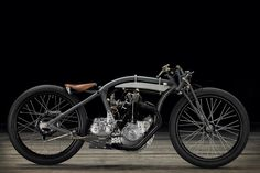This remarkably elegant vintage motorcycle is actually a bit of a mongrel: it's a Rudge 'bitsa' built by Jean-Claude Barrois, who also restored the Honda CB450 and Terrot racer. This bike has had a checkered life, starting out as a 1928 Soyer—a French brand that produced motorcycles between 1920 and 1935. Like many French makes …