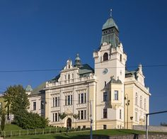 Town hall, Slezská Ostrava, Ostrava. Moravian-Silesian Region, Czech Republic. Prague, Town Hall, Montenegro, Czech Republic, Monuments, Hungary, Austria, Poland, Gardening