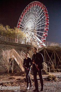 'Divergente': ¡Nuevas fotos de la película con Shailene Woodley y Theo James!