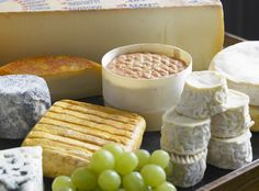 Cheese board at The Great House