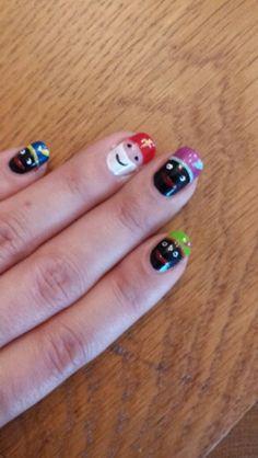 Sinterklaas nagels