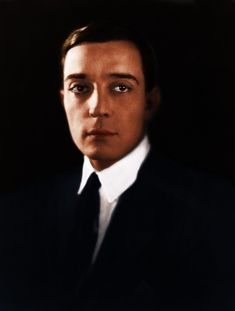Buster Keaton (color)