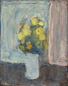 Immanuel-Ibsen-Opstilling-med-gule-blomster-ca.-1940.-Museum-Salling-Kunst.-©Poul-Hansen.jpg (2902×3639)