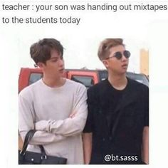 Omg, really looks like eomma Jin is annoyed and appa Namjoon xD