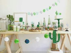 Super ideas for baby shower ideas decoracion cactus Baby Party, Baby Shower Parties, Baby Shower Themes, Shower Ideas, Shower Party, Party Decoration, Birthday Decorations, Bloom Baby, Mexican Party