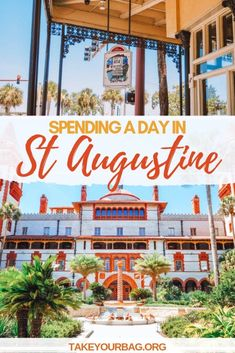 3 days in Florida : Ponte Vedra and St. Augustine Spending a day in St Augustine Florida USA & What to do in Saint Augustine FL Florida Fl, Florida Vacation, Florida Travel, Vacation Spots, Travel Usa, Florida Living, Canada Travel, Cool Places To Visit, Places To Go