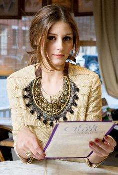 Necklace – Roberta Freymann | http://getthelookoliviapalermo.blogspot.com.es