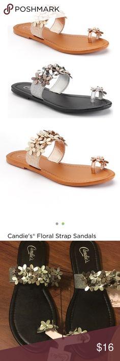 da0eccfe73a1c Bundle Of Candies flower strap sandals NWT