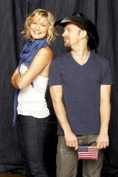 Sugarland's Jennifer Nettles and Kristian Bush