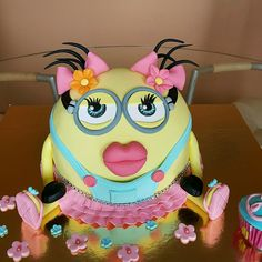 Despicable me funny cake :)