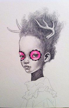 Love this drawing by Julie Filipenko