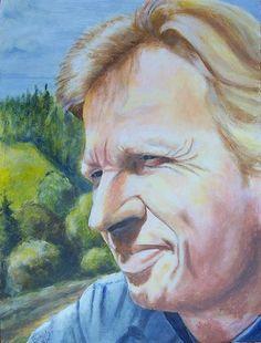 https://flic.kr/p/mtNp4 | Diether Petter | Mein Porträt, gemalt von Roland Severin Schuler