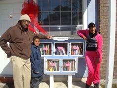 Murelle Harrison. Baton Rouge, LA.  	 The desire of many people in helping the Gardere residents to appreciate reading became possible with this beautiful idea of Little Free Library!