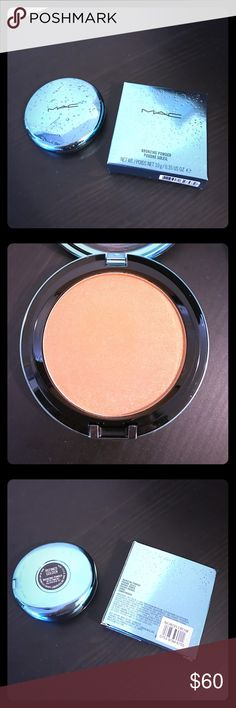 💕MAC Alluring Aquatic LE Bronzing Powder BNIB, authentic MAC Alluring Aquatic Bronzing Powder in Refined Golden. Comes with limited edition original box, it has NEVER been used, or swatched. Only taken out now to take pictures. I consider all offers via the offer button, all sales are final. Bundle and Save! MAC Cosmetics Makeup Bronzer