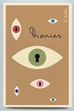 Title: Diaries  Author: Franz Kafka  Designer: Peter Mendelsund
