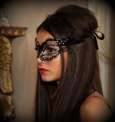 Vampire Diaries Katherine Pierce Masquerade Mask by HigginsCreek