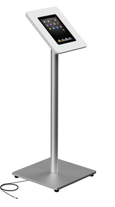 iTop ipad Floor Stand with Rotation Head and Anti-Theft Lock for iPad