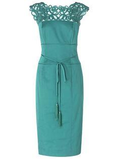 Phase Eight Ishiko Dress, Turquoise  £112