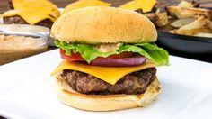 Tequila Burgers & Chipotle Mayo - Grilled