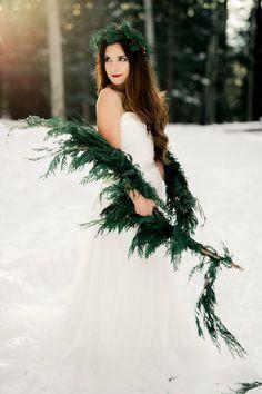 Winter Bride Ideas - Ashley Rae Photography