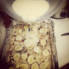 Oatmeal cass! healthy! bake now, eat for days! really yum! can be made gluten free