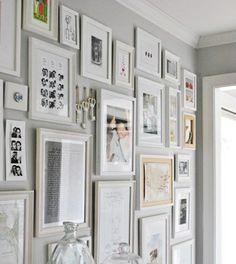 picture wall idea