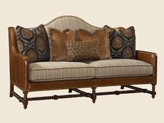 Lexington Home Brands Beale leather/fabric sofa