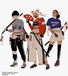 art for adults Aesthetic Anime, Aesthetic Art, Samurai Concept, Japon Illustration, Cartoon Art Styles, Samurai Art, Dope Art, Anime Outfits, Character Design Inspiration