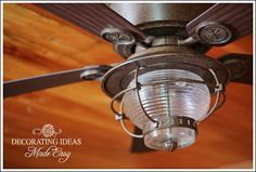 Log Cabin Interior Design See A Guest Bedroom Makeover Nautical Ceiling Fanrustic