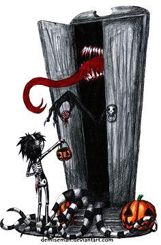 Trick or threat? by DemiseMAN.deviantart.com on @deviantART