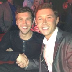 Phillip Phillips and Scotty McCreery. LOVE THEM. ❤