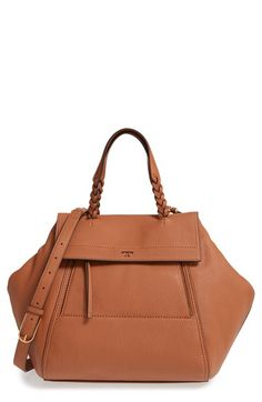 Free shipping and returns on Tory Burch  Half-Moon  Leather Satchel at  Nordstrom 6e77ce010cc64