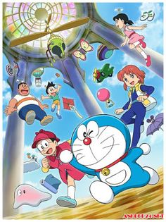 Doraemon the movie: secrets of the gadgets museum Doremon Cartoon, Cartoon Drawings, Cartoon Characters, Doraemon Wallpapers, Cute Cartoon Wallpapers, Anime Fnaf, Manga Anime, Doraemon Stand By Me, Scooby Doo