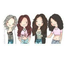 Cartoon Little Mix :) xx