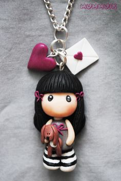 Gorjuss necklace! // ♡ I TINK SHE IS BE-YOU-TIF-FULL! ;) ♥A