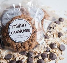 Oatmeal Chocolate Chip | Milkin' Cookies
