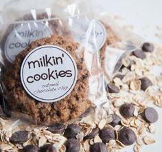 Oatmeal Chocolate Chip | Milkin' Cookies