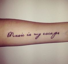 ~ Music is my escape ~