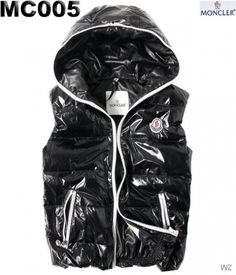 3ac370e4a86 FR Moncler pas cher - sans manche Doudoune Moncler homme Noir Moncler  Jacket Women