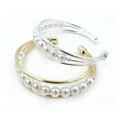 Palace Pearls Cuff Style Pearl Bracelet