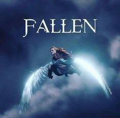 Fallen Saga, Fallen Novel, Fallen Series, Fallen Book, Angels And Demons, Fallen Angels, Tv Star, Lauren Kate, Movies And Series