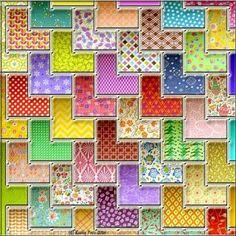 Mosaic To Enjoy :-) Puzzle created by Hummingbird59 Image copyright: (C) Kathy Potts 2016